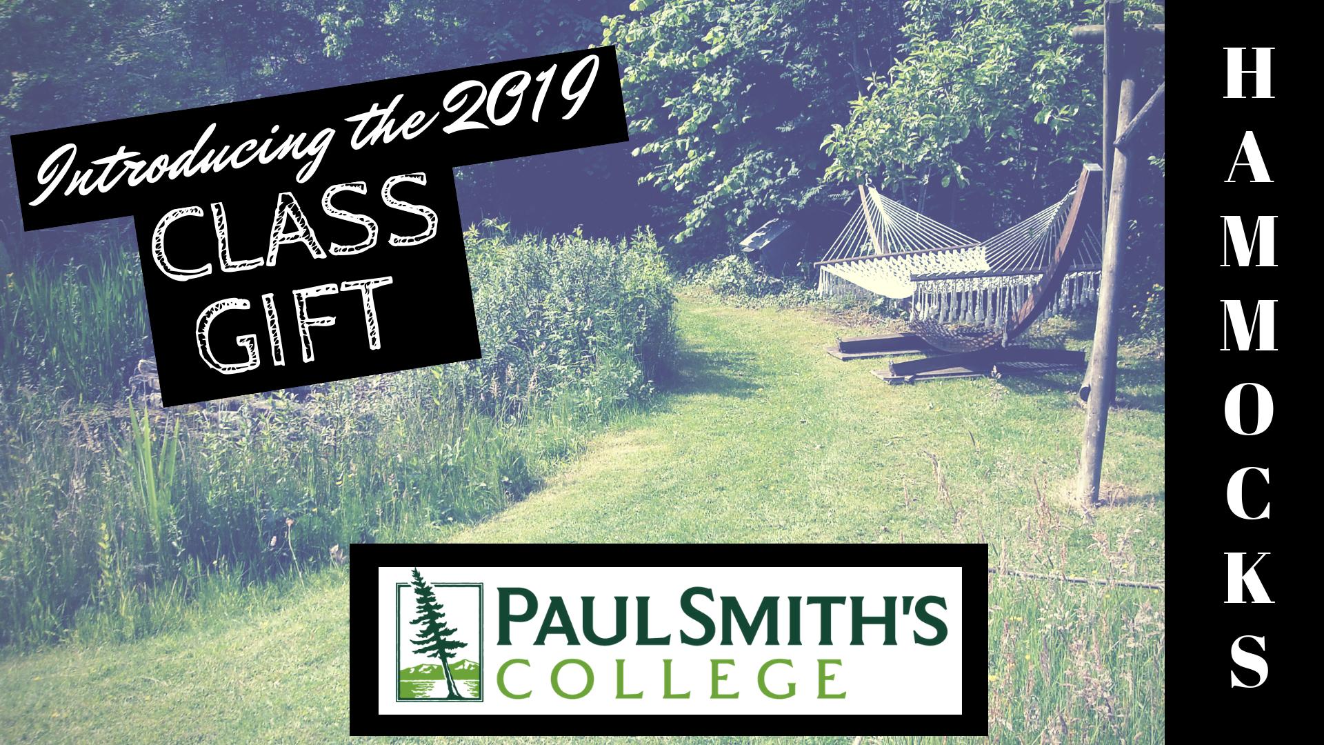Hammocks - class gift 2019